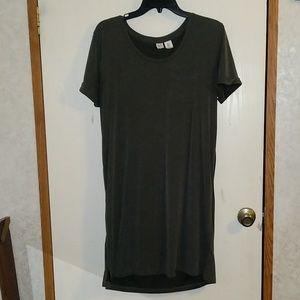 Super soft Olive green dress/ nightgown